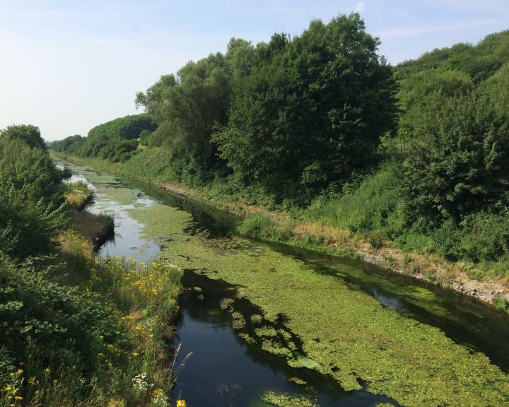 Restoration of the Emscher River