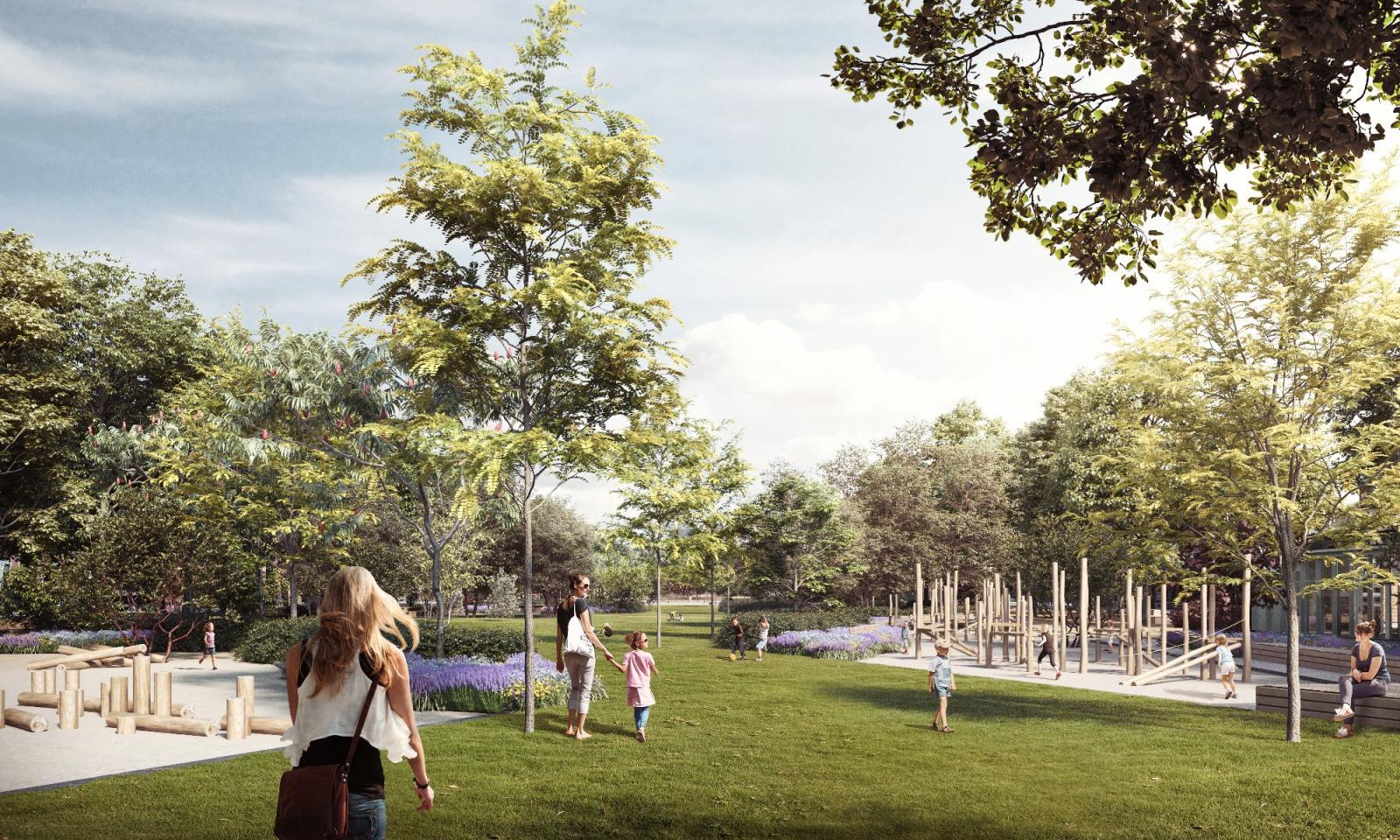 Park Als Tuin : Central park of antwerp naturvation